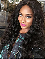 Hot Sale Big Curly Lace Front Human Hair Wigs with Baby Hair 150% density Glueless Lace Front Wigs Brazilian Virgin Hair Wigs for Black Woman