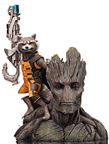 Anime Action Figures Guardians of the galaxy groot Inspired by Cosplay Cosplay PVC 15 CM Model Toys Doll Toy 1pc