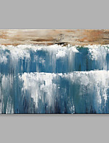 Oil Painting Abstract Waterfall with Stretched Frame Handmade Oil Painting For Home Decoration