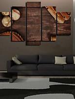 Impression d'Art Rétro,Cinq Panneaux Format Horizontal Imprimé Décoration murale For Décoration d'intérieur