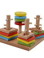 Building Blocks Pegged Puzzles For Gift  Building Blocks Wood 2 to 4 Years 5 to 7 Years Toys