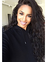 120% Density Lace Front Human Hair Wigs for Black Women Brazilian Virgin Hair Water Wave With Baby Hair