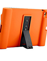 For Apple iPad 4/3/2 Case Cover Shockproof with Stand Full Body Case Solid Color Soft Silicone