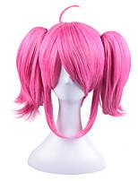 Косплэй парики LOL Косплей Средний Аниме Косплэй парики 37 См Термостойкое волокно