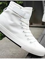 Da uomo Sneakers Comoda Di corda Primavera Casual Bianco Nero Grigio Piatto