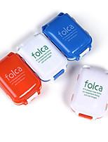 1 pieza Caja de Viaje para Pastillas Caja/Funda para Medicinas A Prueba de Humedad Impermeable Portátil A prueba de polvo paraA Prueba de