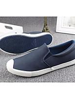 Da uomo Sneakers Comoda Tulle Primavera Casual Comoda Nero Caffè Blu Piatto
