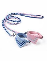 Collar Wateproof Portable Adjustable Solid PU Leather