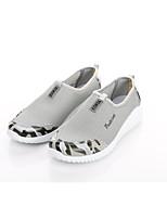 Для мужчин Мокасины и Свитер Удобная обувь Светодиодные подошвы Тюль Весна Лето Для офиса Повседневный Для прогулок На плоской подошве
