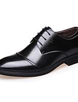 Для мужчин Туфли на шнуровке Удобная обувь Микроволокно Весна Лето Осень Зима Повседневные Для вечеринки / ужина Для прогулокУдобная