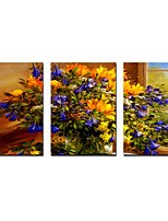 Stretched Canvas Prints Blossom Flowers Printed on Canvas Modern Art for Wall Decoration