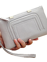 Women Cowhide Formal Casual Event/Party Wedding Office & Career Clutch Coin Purse Wristlet
