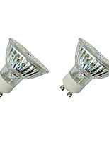 3W LED Spotlight GU10 60 SMD 3528 280-320 Lm White/Warm White AC220-240V 2 pcs