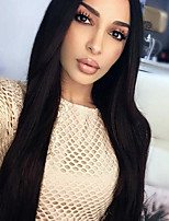 2017 Hot Selling Brazilian Virgin Hair Lace Wigs Silky Straight Lace Front Human Wigs Virgin Remy Hair Wig for Woman