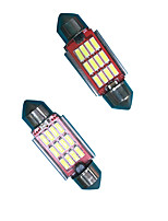 Ampoule led de fantaisie de 2,4w 31mm / 36mm (2pcs)