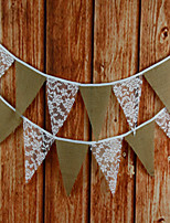 Lace Wedding Decorations-1 Non-personalized