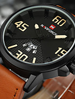 NAVIFORCE Hombre Reloj Deportivo Reloj Militar Reloj de Moda Reloj de Pulsera Reloj creativo único Reloj Casual Japonés CuarzoCalendario