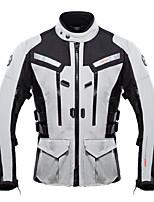 Unisex Bike Tops Waterproof Breathable Protective Sports Motobike/Motorbike Black Gray Red