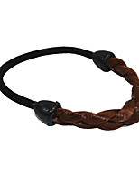 2 Pieces Twist Braid Hair Tie Plastic Hair Ponytail Hair Tools Brown