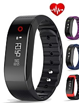 Women's Men's Smart Bracelet Bluetooth 4.0 Heart Rate Monitor Sleep Activity Tracker OLED Screen Smart Band for iOS Android