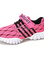 Girls' Loafers & Slip-Ons Casual Active Fashion PU All Seasons Sport Daily Going out Casual Active Fashion Magic Tape Flat HeelBlushing