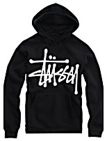 Men's Business Daily Sports Hat Hoodie Solid Printing Hooded strenchy 100%Cotton Long Sleeve Spring Fall Winter