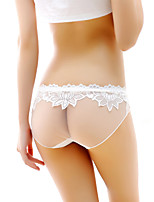 Sexy Dentelle Solide Sous-vêtements Ultra Sexy Slips