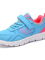 Girls' Sneakers First Walkers Tulle Spring Fall Casual Walking First Walkers Magic Tape Low Heel Blushing Pink Blue Purple Flat