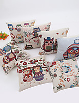 1 Pcs 45cm*45cm  Cartoon Owl Series  Pillow Case
