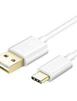 USB 2.0 Cable, USB 2.0 to USB 2.0 Tipo C Cable Macho - Macho 1,5 m (5 pies)