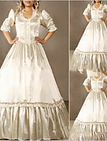 One-Piece/Dress Sweet Lolita Lolita Cosplay Lolita Dress Vintage Cap Half Sleeve Floor-length Dress For Other