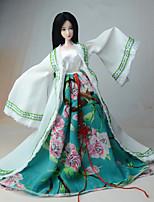 Vestido Para Boneca Barbie Casaco Vestido Para Menina de Boneca de Brinquedo