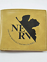 Fashion Men's Evangelion Change Purses PU All Seasons Daily Casual Party & Evening Baguette Without Zipper