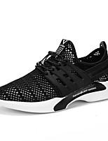 Men's Sneakers Comfort Light Soles Tulle Spring Summer Athletic Casual Outdoor Comfort Light Soles Gore Flat Heel Black Flat