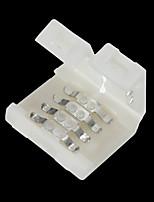 5 шт. 4-контактный паяный разъем для 10 мм 5050 rgb светодиодных фонарей