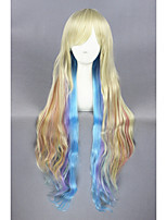 Vocaloid-MAYU Color Mixed Anime 40inch Cosplay Wigs CS-112A