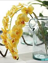 1 Филиал Недвижимость сенсорный Орхидеи Букеты на стол Искусственные Цветы