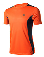 Men's Short Sleeve Running Breathable Compression Comfortable Spring Summer Fall/Autumn Sports Wear Camping / Hiking Exercise & Fitness