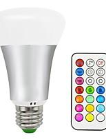 10W LED Smart Bulbs A70 16 SMD 5050 700 lm Warm White RGB V 1 pcs