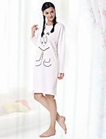 Women's Robes Nightwear Pattern-Medium