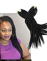 Havanna Gehäkelt Dread Locks Haarverlängerungen Kanekalon Haar Borten
