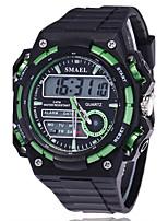 Homme Montre de Sport Montre Militaire Smart Watch Montre Tendance Montre Bracelet NumériqueLED Calendrier Tracker de Fitness Chronomètre