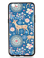 For OPPO R9s  R9s Plus Case Cover Pattern Back Cover Case Deer Flower Animal Hard PC R9 R9 Plus