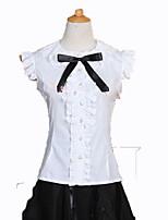 Блузы/сорочки Готика Принцесса Косплей Платья Лолиты Мода С короткими рукавами Лолита Блузка Для