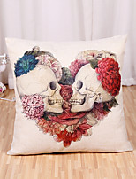 1 Pcs Personality 3D Poignant Skull Printing Pillow Case Square Pillowcase Cushion Cover