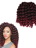 bouncy twist 8inch Havana Crochet Curly Bouncy Curl Deep Twist Pre-loop Crochet Braids Hair Extensions Hair Braids synthetic braiding hair weave