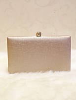 Women Evening Bag PU All Seasons Event/Party Party & Evening Club Baguette Magnetic Coffee Champagne