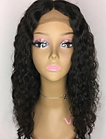 Top Grade Lace Front Human Hair Wigs Curly for Woman 150% Density Brazilian Virgin Hair Glueless Lace Wig with Baby Hair