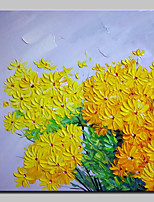 Hand Painted Beautiful Chrysanthemum Oil Painting On Canvas Modern Art Wall Pictures For Home Decoration Ready To Hang
