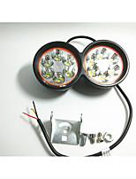 Phares extérieurs de moto projecteurs lumières lumières extérieures étanches